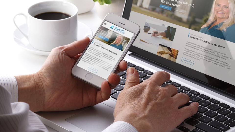 Mobile & Desktop Site Development
